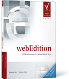 webEdition Buch: CMS, eCommerce, Online-Marketing